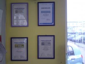 certyfikat dla ASO Połaski