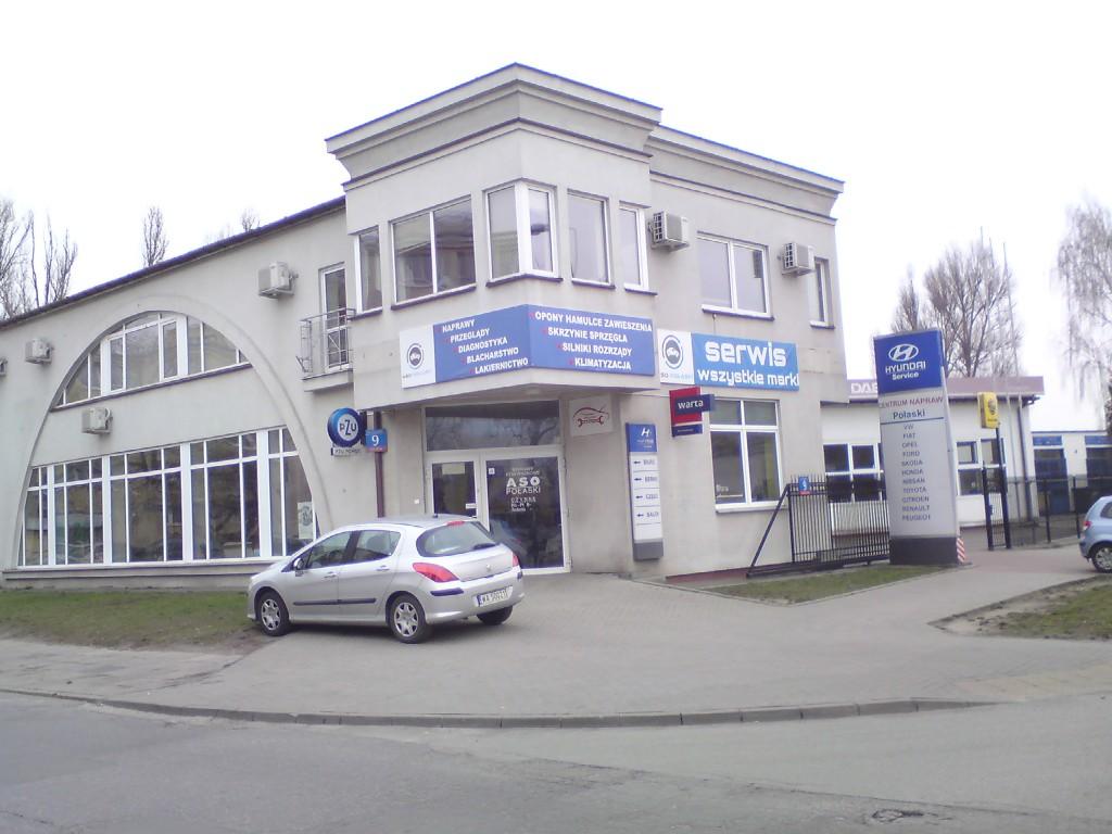 siedziba firmy Aso Połaski